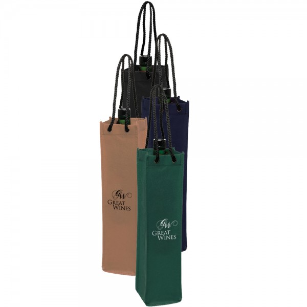 personalized non woven single wine bottle bags wholesale cheap