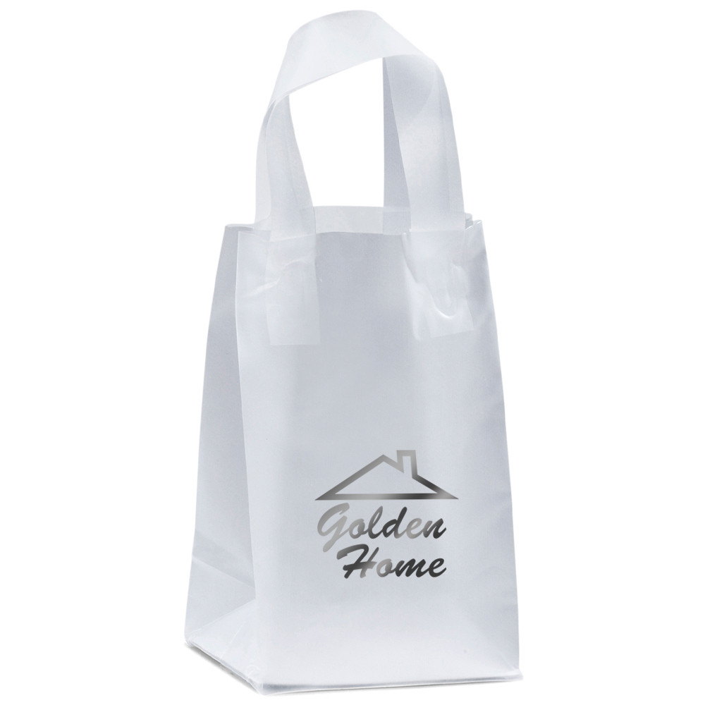 white paper card personalized christmas bags with butterfly