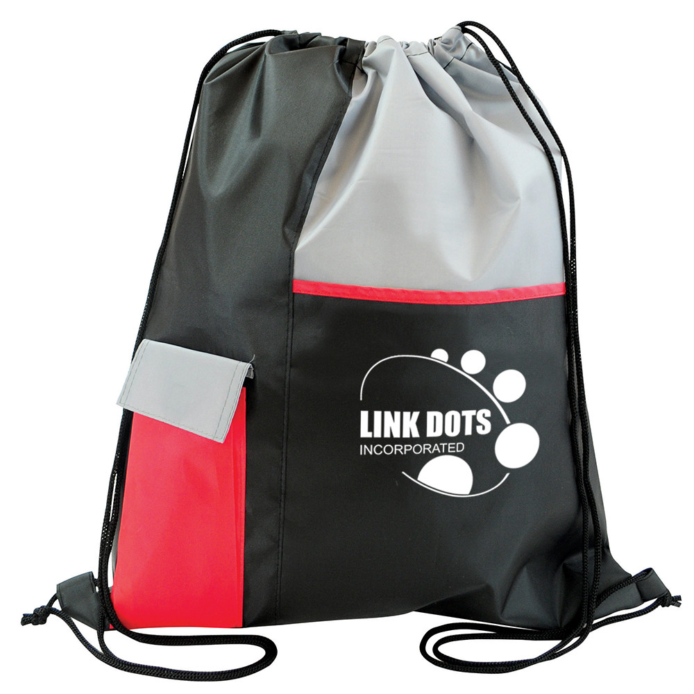 oem reusable polyester cheap large drawstring bag