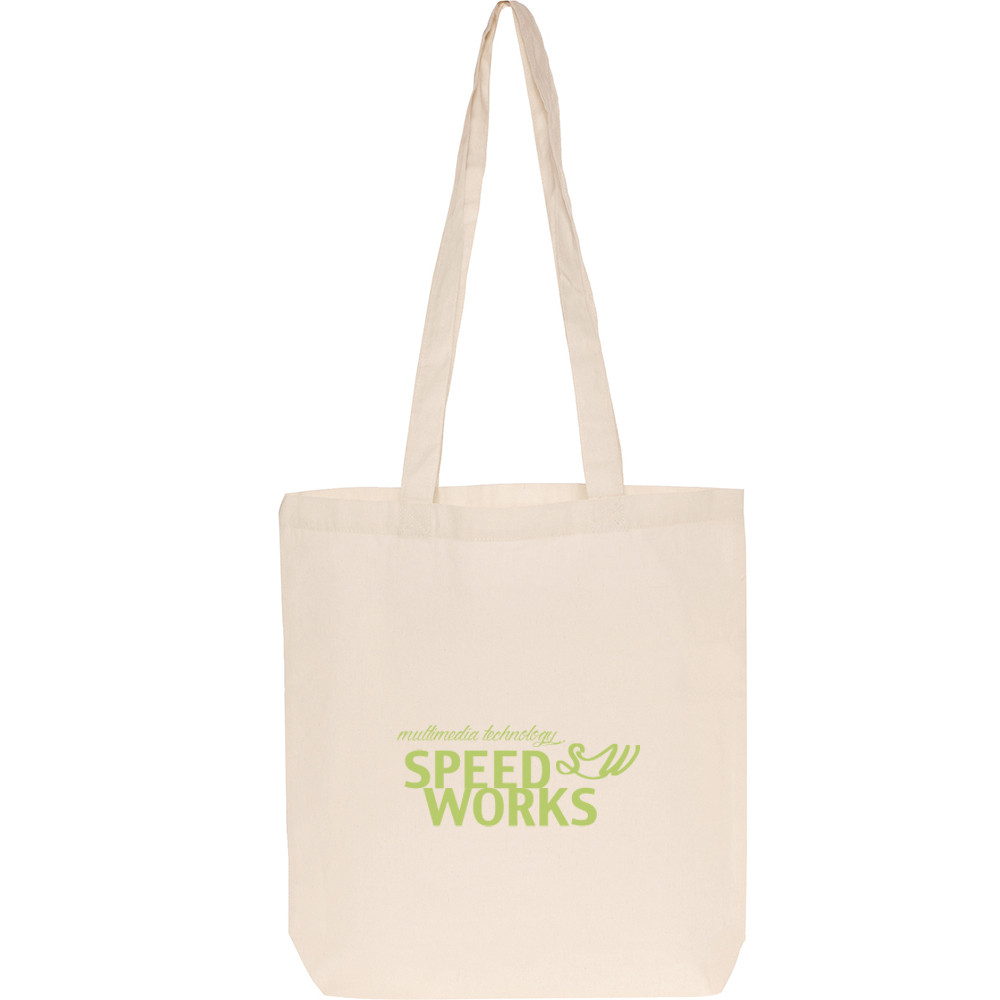 custom fabric shopping organic cotton bag with top grade