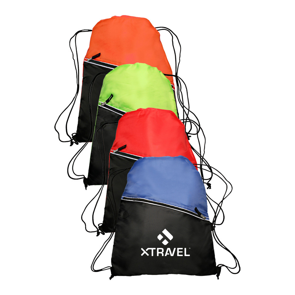 Promotional Big Muscle Nylon Drawstring Bags