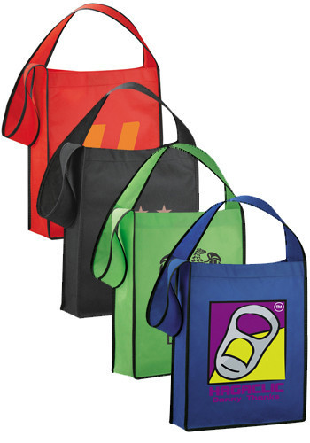 Beach Canvas Tote Cloth Bags with Printed Logo Cotton Eco Grocery Bag