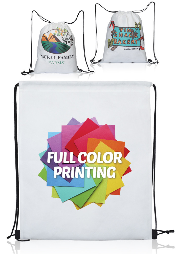 Custom drawstring eco-friendly canvas laundry bags wholesale