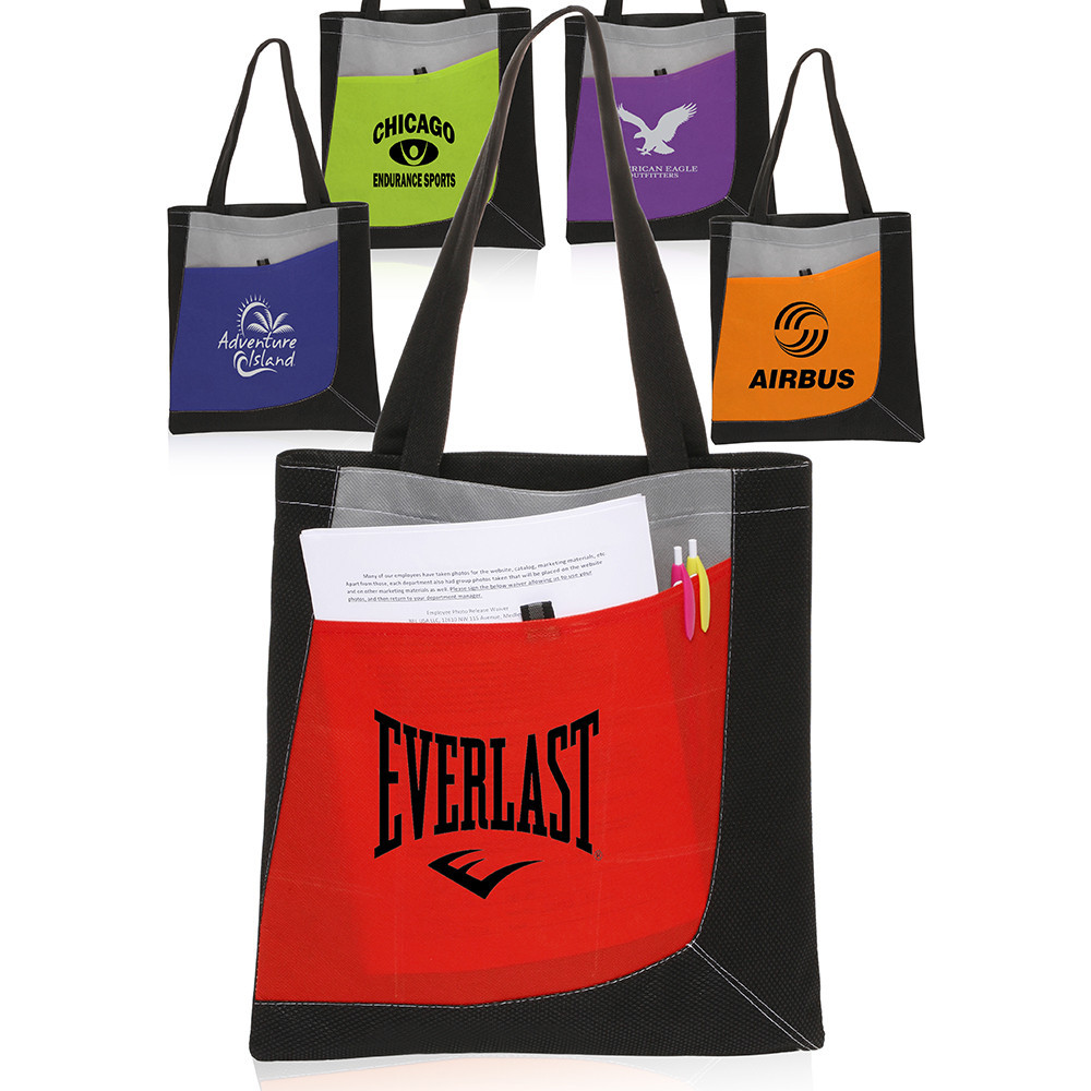 12 Oz Promotional Print Logo Tote Canvas drawstring Shopping Foldable Bag