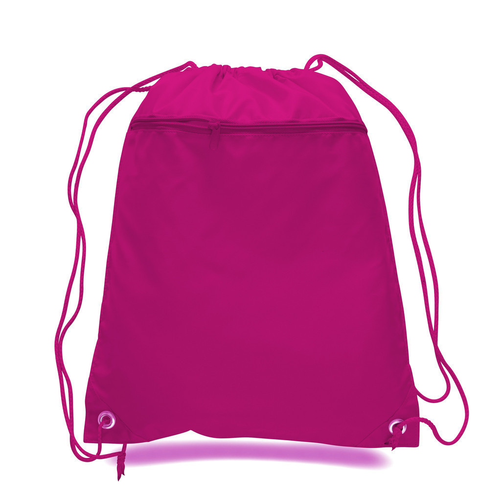 hotsale polyester cheap drawstring cloth bag
