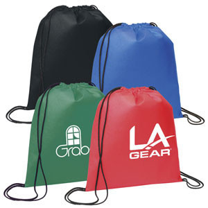 Customized Eco-friendly Long Nylon Drawstring Bags