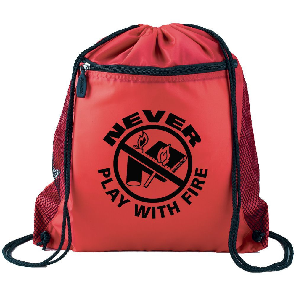 wholesale promotional drawstring backpacks for businesses