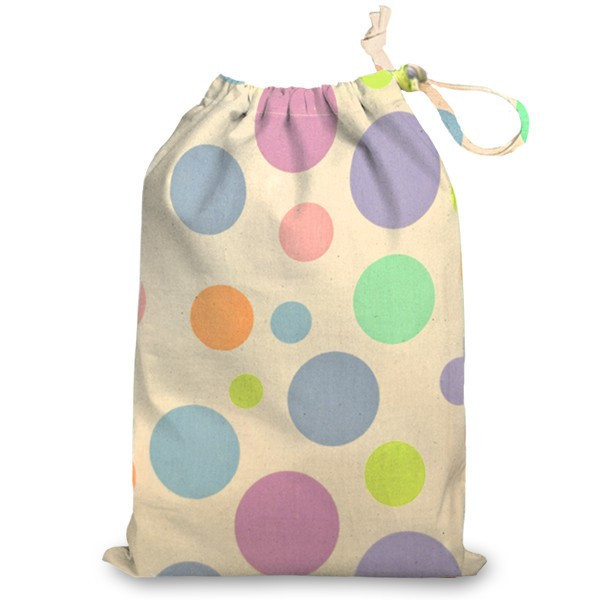 Hot sale portable travel china printed polyester laundry bag