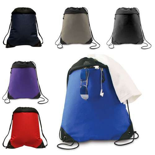 2017 New style drawstring bags backpack beach bags