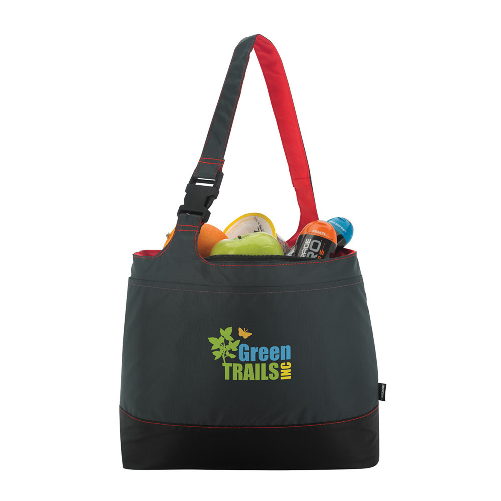 high quality portable foldable shopping bag with wheels