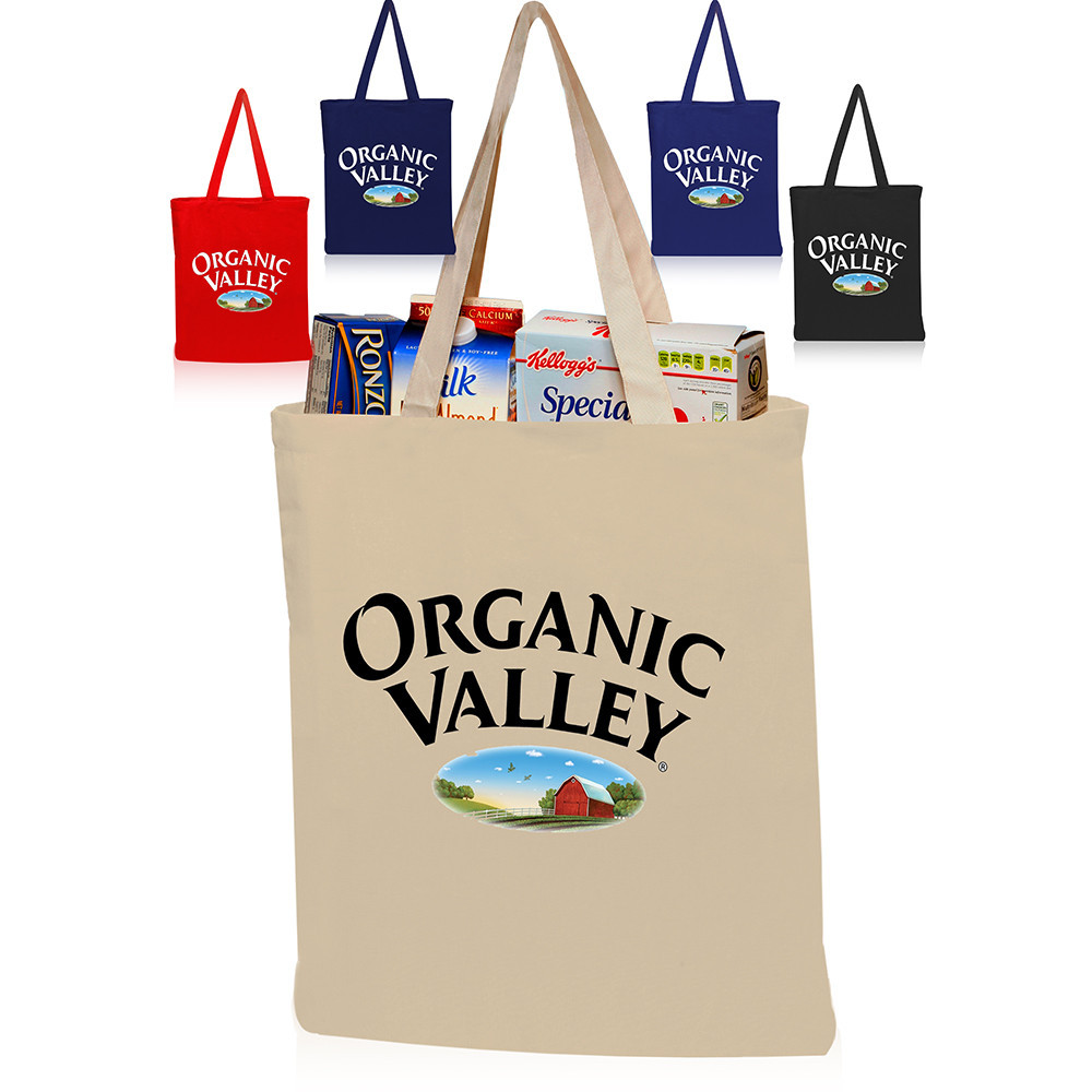 custom design printing silk screen short handle tote cotton canvas bag