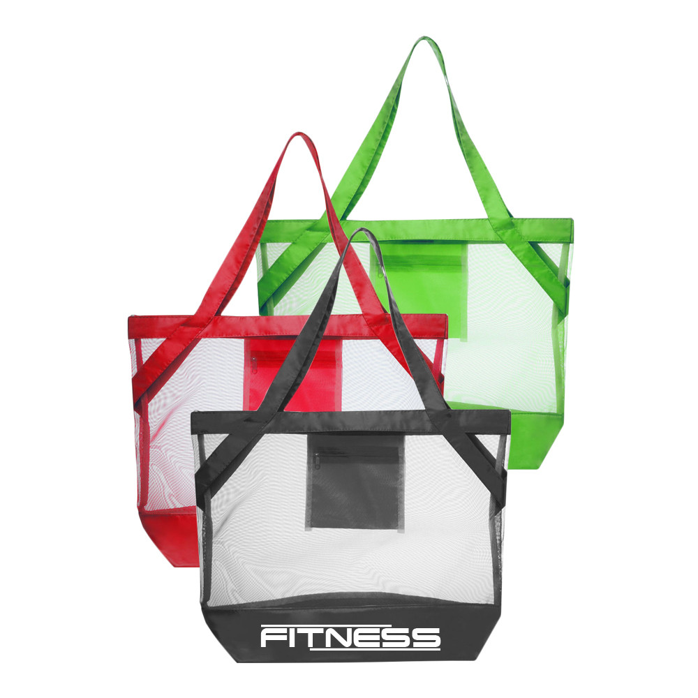 Custom Logo Tote Shopping Canvas Zipper Bags Wholesale